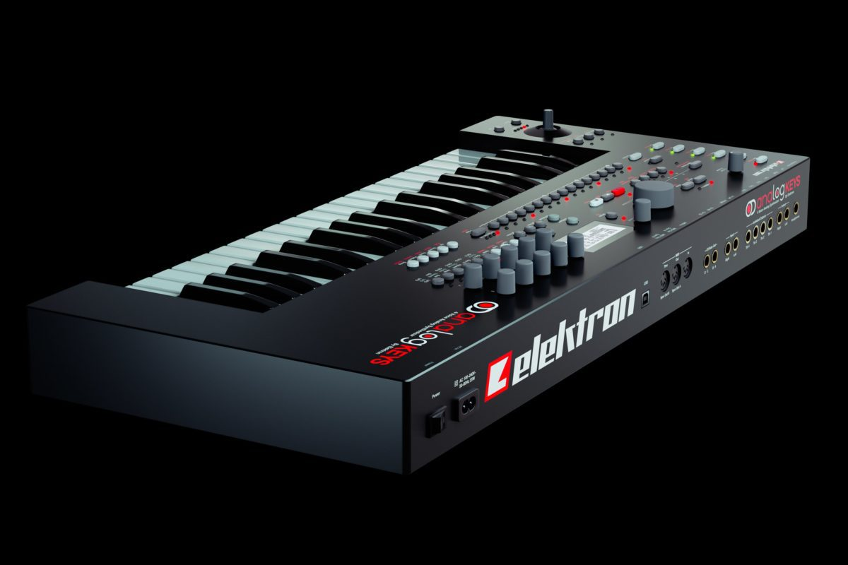 Analog-Keys-By-Elektron-Back-Angle-View-Black
