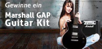 Gewinnspiel: Marshall GAP Guitar Kit