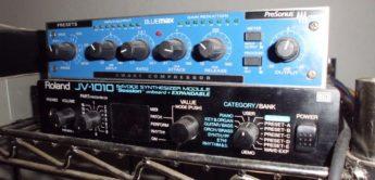 Roland JV-1010 und PreSonus BlueMax, dass No-Budget-Team