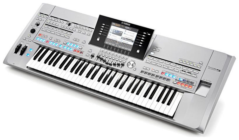 test yamaha tyros 5 entertainer keyboard