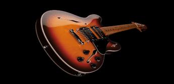 Test: Fender Starcaster Guitar MN ACB, E-Gitarre