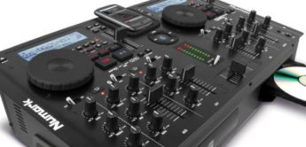 Test: Numark CD Mix Bluetooth, DJ-Mixer/CD-Player