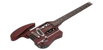 Test: Traveler Guitars Speedster Hot Rod Heats CAR, E-Gitarre