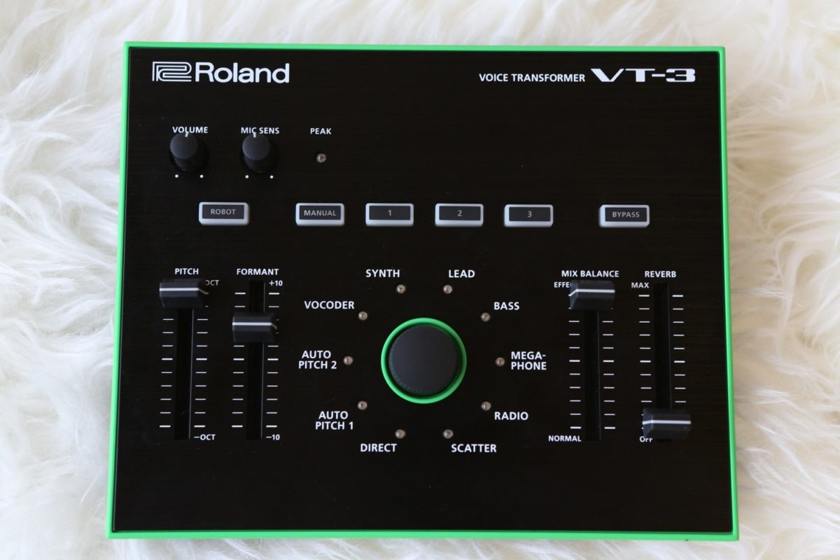Roland VT-3, Voice Transformer & Vocoder