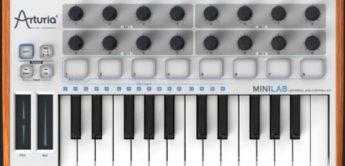 Arturia Minilab als Universal-MIDI-Controller