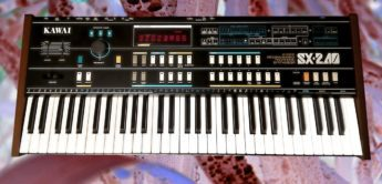 Blue Box: Kawai SX-240, Analog Synthesizer
