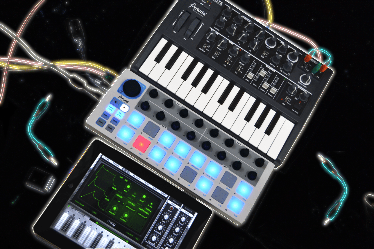 test  arturia beatstep step