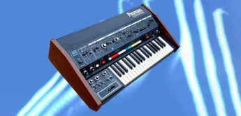 Blue Box: Roland Promars MRS-2, Analog Synthesizer