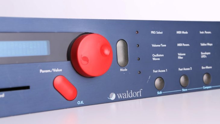 waldorf microwave wavetable synthesizer