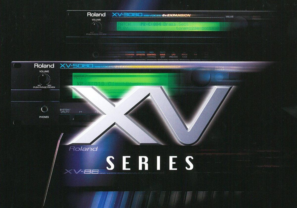 1_Roland_ XV_Series_Titel