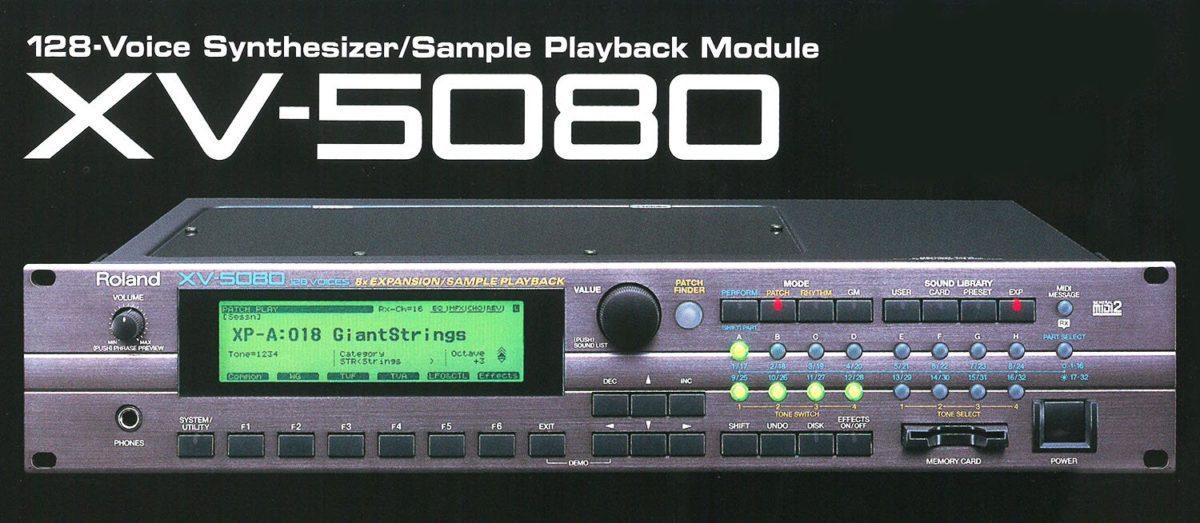 Roland XV-5080 aus dem Jahr 2000