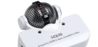 Test: Zoom iQ5, Mikrofonaufsatz für iOS