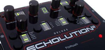 Test: Pigtronix Echolution 2 Deluxe, Effektgerät für Gitarre