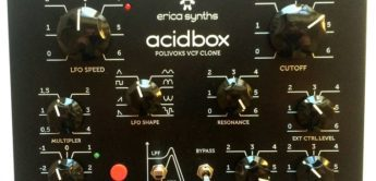 Top News: Erica Synths Acidbox, analoges Filter