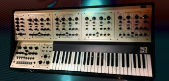 Blue Box: Oberheim Four Voice, Analogsynthesizer