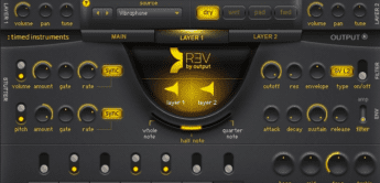 Test: Output REV, Synthesizer Plug-in