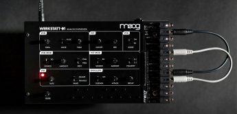 Moog Werkstatt-01 & CV Expander – Neuauflage des DIY-Synthesizers