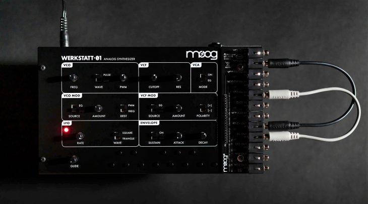 moog werkstatt-01 synthesizer cv expander