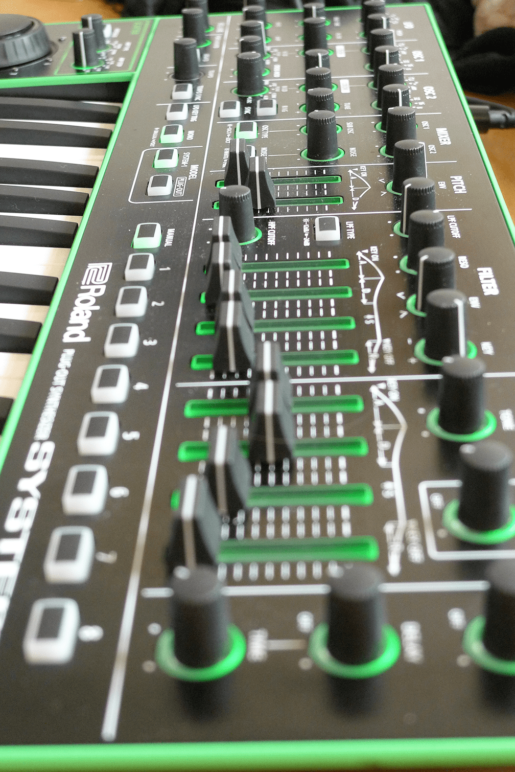 Test Roland Aira System 1 Plug Out Synthesizer Seite 8