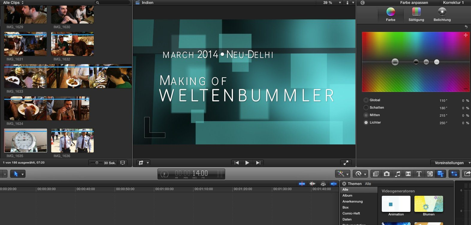 how to turn on magnetic timeline in final cut