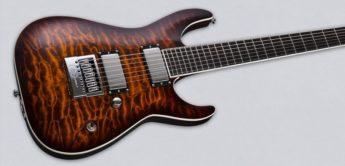 Test: ESP LTD KS-7 QM ET, E-Gitarre