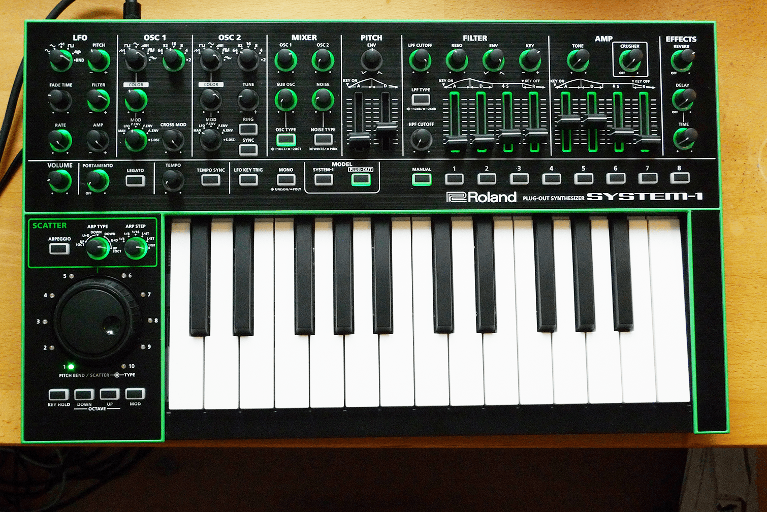 Test Roland Sh 101 Aira Plug Out Synthesizer Seite 3