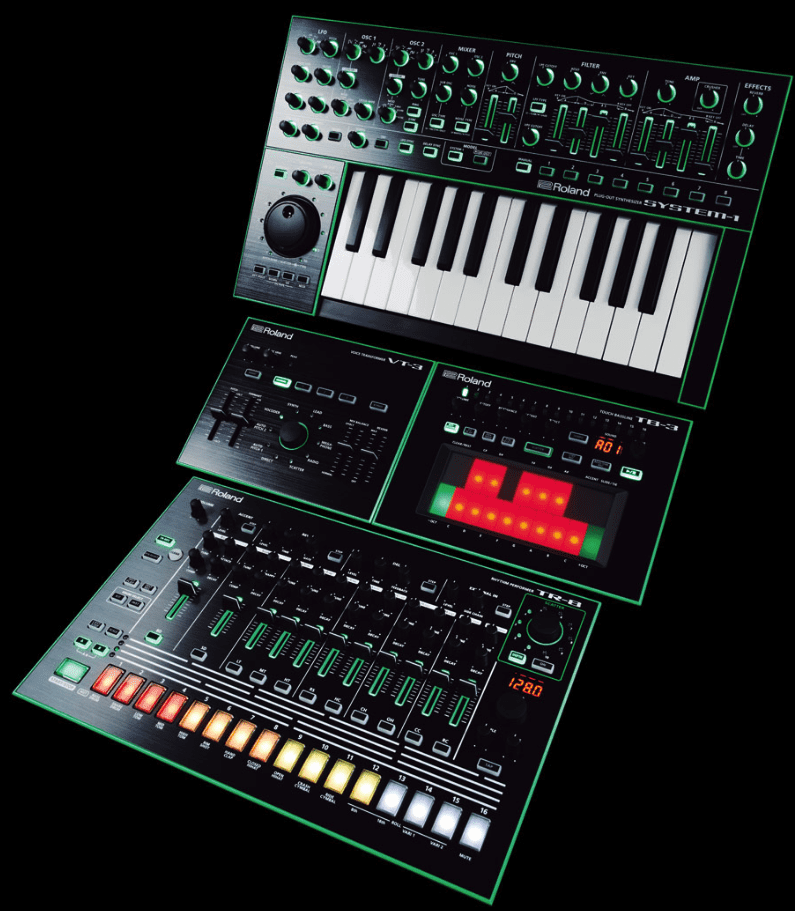 Test Roland Aira System 1 Plug Out Synthesizer Amazona De