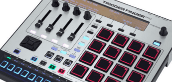 Test: M-Audio Trigger Finger Pro, USB-MIDI-Controller / Step-Sequencer