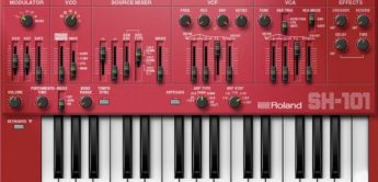 Test: Roland SH-101 AIRA Plug-out Synthesizer