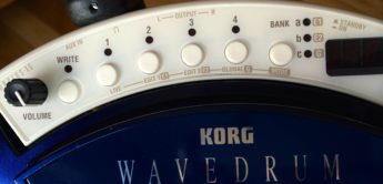 SPECIAL: Korg Wavedrum WDX Global Edition, Pro Mark-Broomsticks, Millenium Snare Stand