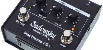Test: Sadowsky Bass Preamp/D.I., Bass Vorverstärker und DI-Box