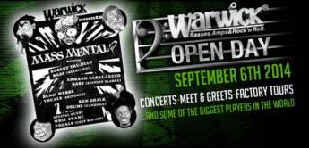 Report: Warwick Open Bass Day 2014 am 06.09.2014