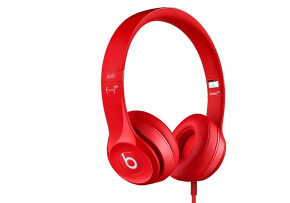 Der Beats Solo2 in rot.