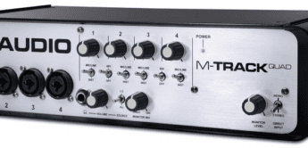 Test: M-Audio M-Track Quad, Audiointerface