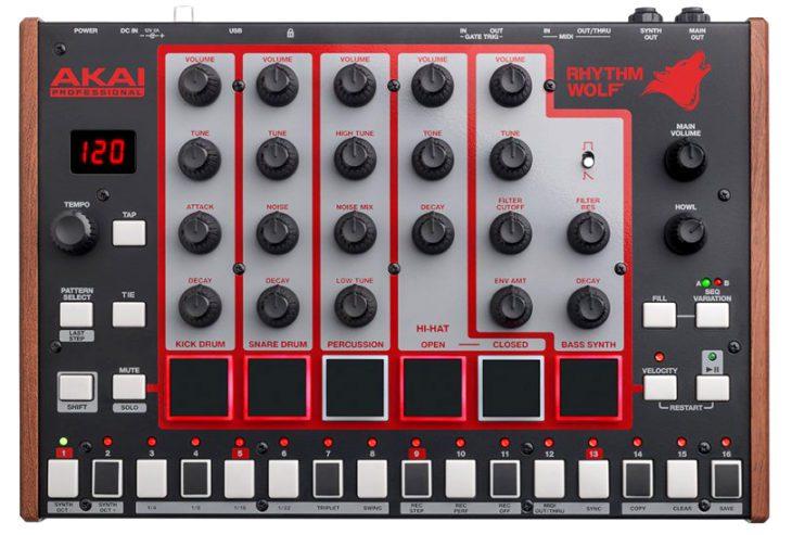 Akai Rhythm Wolf Analog Drum Machine