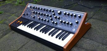 Test: Moog Sub37, Analogsynthesizer