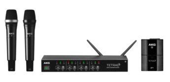 Test: AKG DMS Tetrad, digitales Funksystem