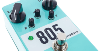 Test: Seymour Duncan 805 Overdrive, Effektgerät für Gitarre