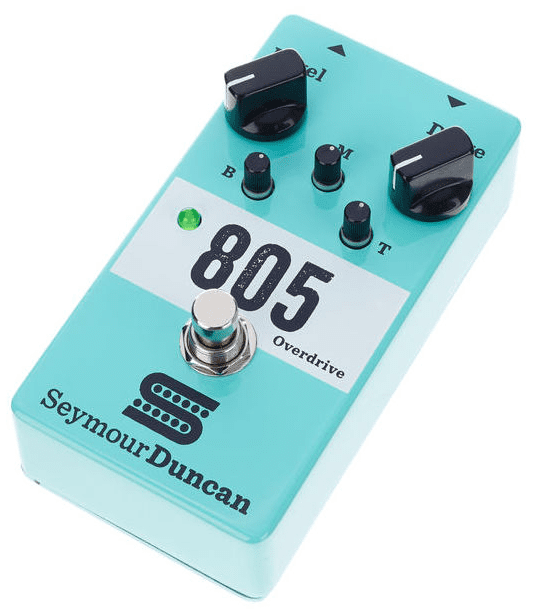 Test: Seymour Duncan 805 Overdrive, Effektgerät für Gitarre - AMAZONA.de
