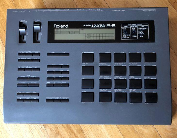 Roland R-8, R-8MKII, R-5