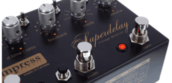 Test: Empress Effects Vintage Modified Superdelay, Effektgerät für Gitarre