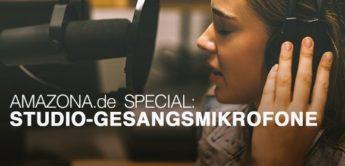 Die besten Studio-Gesangsmikrofone bis 750,- Euro