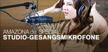 Die besten Studio-Gesangsmikrofone, Oberklasse bis 1500,- Euro
