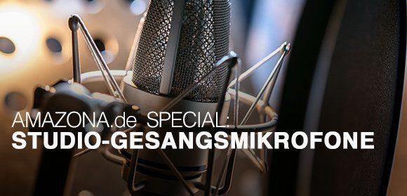 Kaufberatung Studio-Gesangsmikrofone