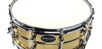 Vergleichstest: Millenium Snares 14×5,5 Power Brass, 14×5,5 Black Steel, 14×5,5 Maple