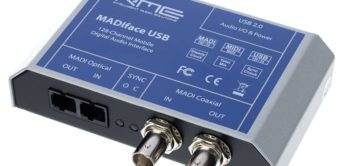 Test: RME Madiface USB, MADI Interface