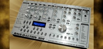 Green Box: Quasimidi 309 Rave-O-lution, Groovebox