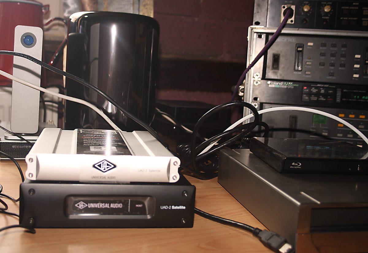 Satellite FW Duo mit MacPro und der Satellite TB Octo
