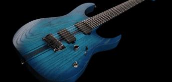 Test: Ibanez Iron Label Sapphire Blue Flat, E-Gitarre