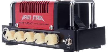 Test: HoTone Nano Legacy Heart Attack, Gitarrenverstärker